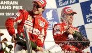Felipe Massa e Fernando Alonso - GP do Bahrein 2010